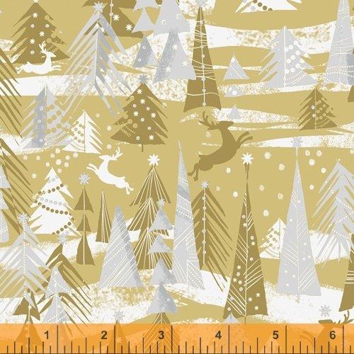 Gold - Reindeer Forest - Holiday Village - 51773M-1