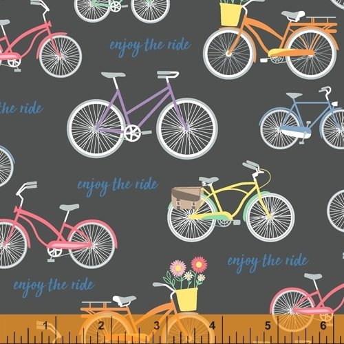 Multi - Black - Wind - Enjoy the Ride - 51994-1