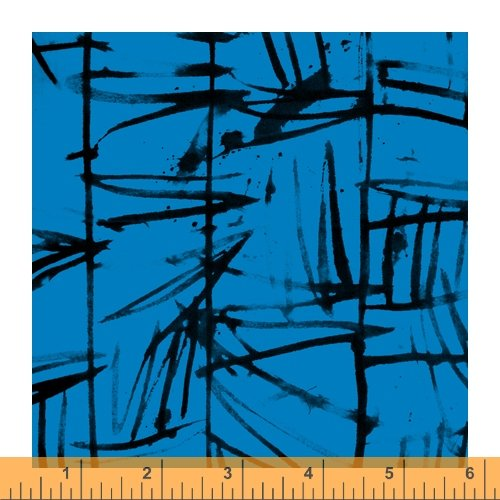 Bamboo - The Blue One by Marcia Derse - 52043-3