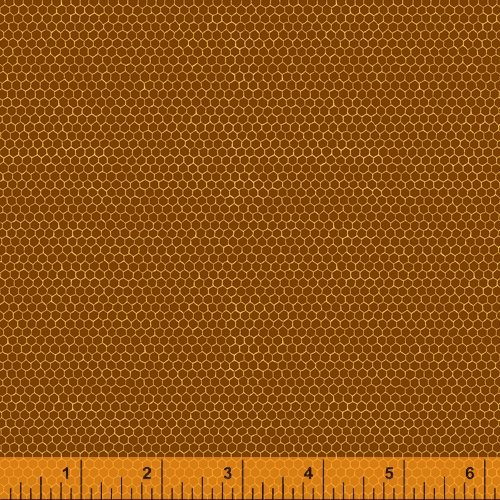 Burnt Orange - Hexie - Nature Study - 52092-11