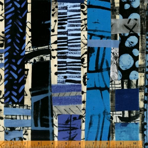 Totem Panel - The Blue One by Marcia Derse - 52186D-X