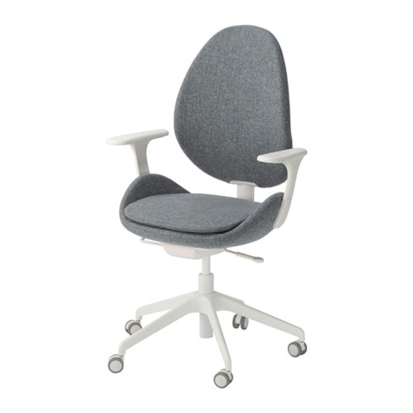 Chair - Adjustable sewing chair - Gray White