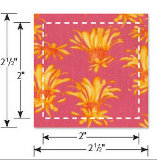 Sizzix Bigz L Die - Squares 2 Fin (2 1/2 Unfin) (M&G) - 658321