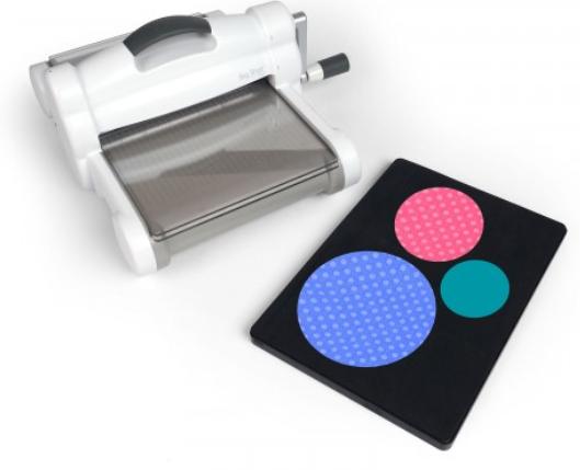 Sizzix Big Shot Plus Fabric Series Starter Kit (White&Gray) - 661581