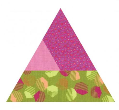 Sizzix Bigz L Die - Varied Triangle/ Victoria Findlay Wolfe - 662036