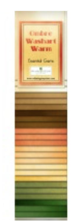 Warm - 2 1/2 Strips - 24 strips - Ombre Washart -- Ombre Washart - 802 36 802
