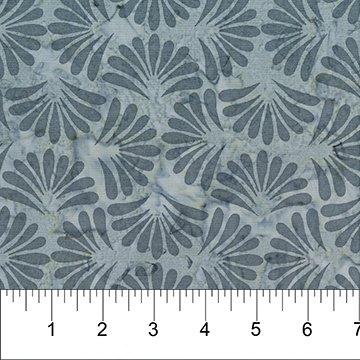 Gray - Fans - Banyan Classic Batiks - 81202 91