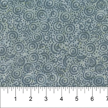 Gray - Swirl - Banyan Classic Batiks - 81203 91