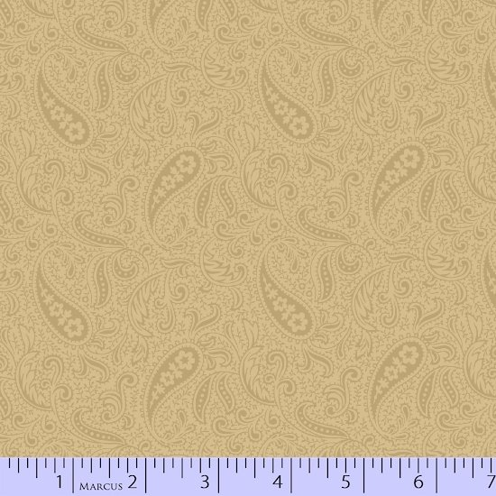 Cream Paisley - Mrs. Miller's Apprentice - R178325-0192