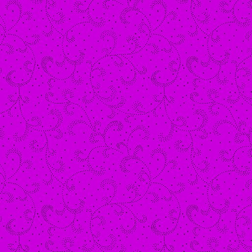 Boysenberry - Swirling Scroll - Color Theory - 9805-26