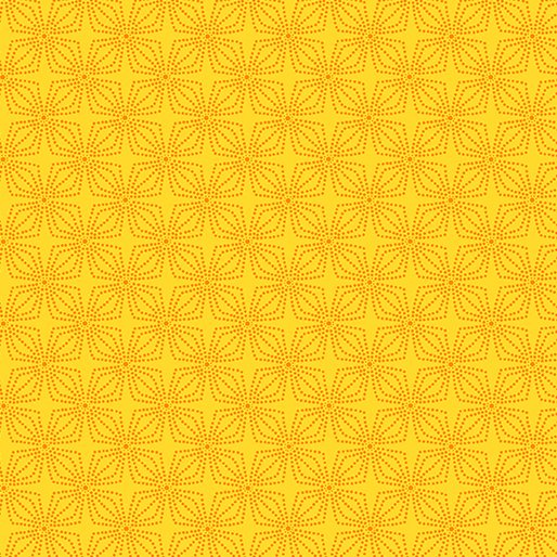 Marigold - Geo Bloom - Color Theory -  9806-30