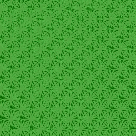 Green - Geo Bloom - Color Theory - 9806-44