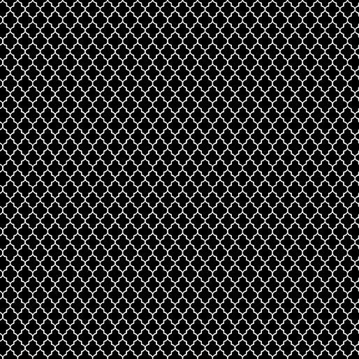 Black - Mini Arabesque - Color Theory - 9808-12