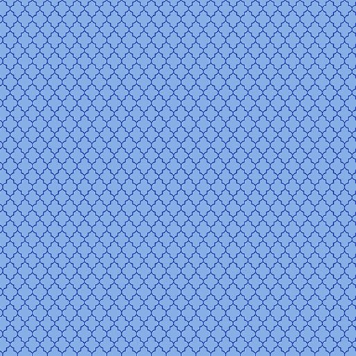 Blue - Mini Arabesque - Color Theory - 9808-50