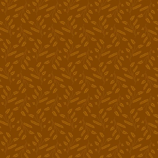 Copper - Wheat Sprigs - Color Theory - 9810-88