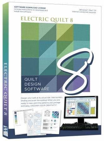 Electric Quilt 8 Software - Windows/Mac OS