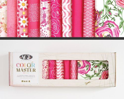 Life is Pink Edition Color Master No. 2 - 10 Fat Quarters - 2.5 Yards - B-FQ102