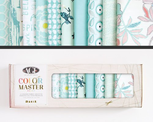 Fresh Water Edition - Color Master No. 9 - 10 Fat Quarters - 2.5 Yards - B-FQ-109