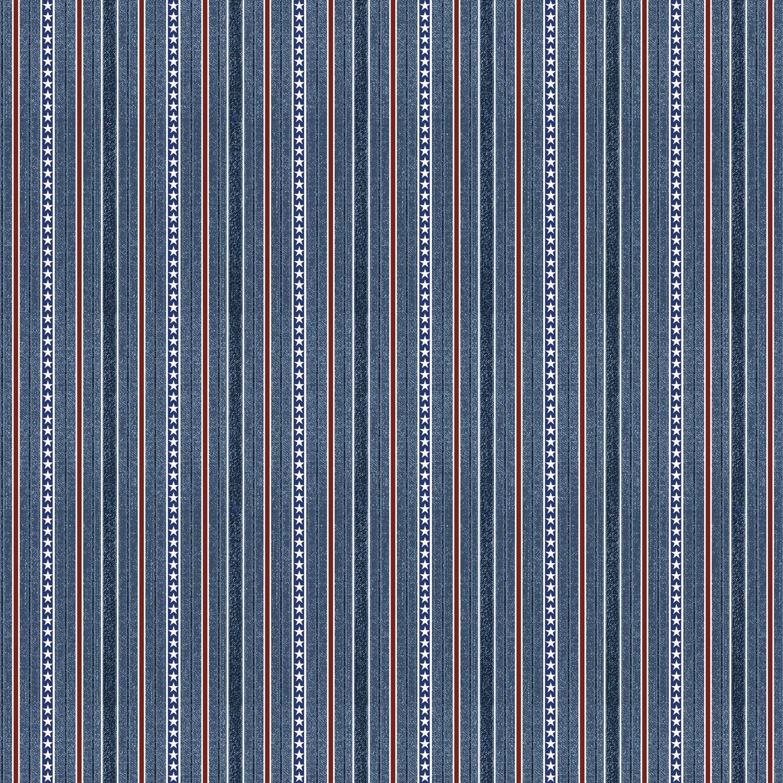 Blue Stripe - American Rustic - BEN6335-55