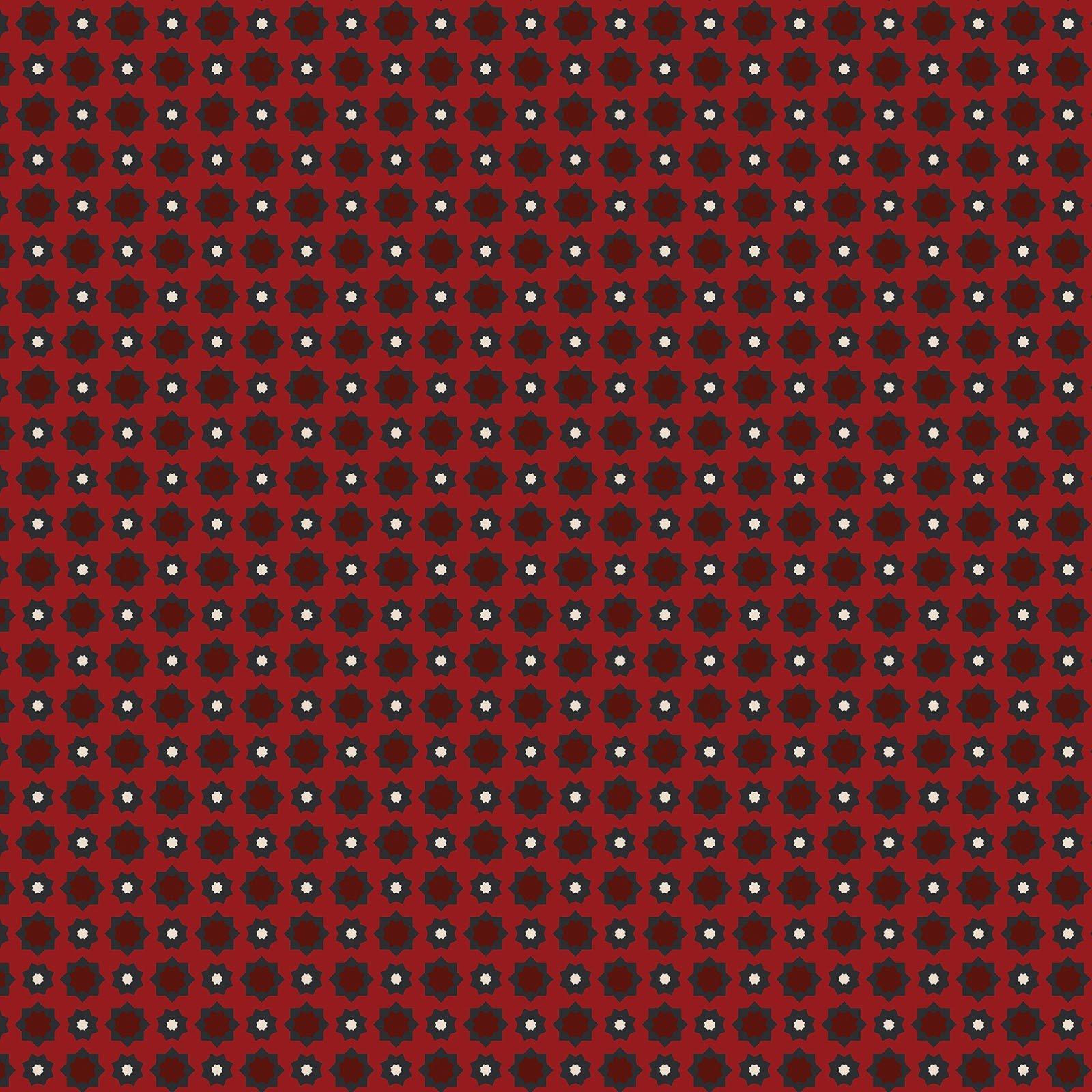 Red Foulard - American Rustic - BEN6338-10