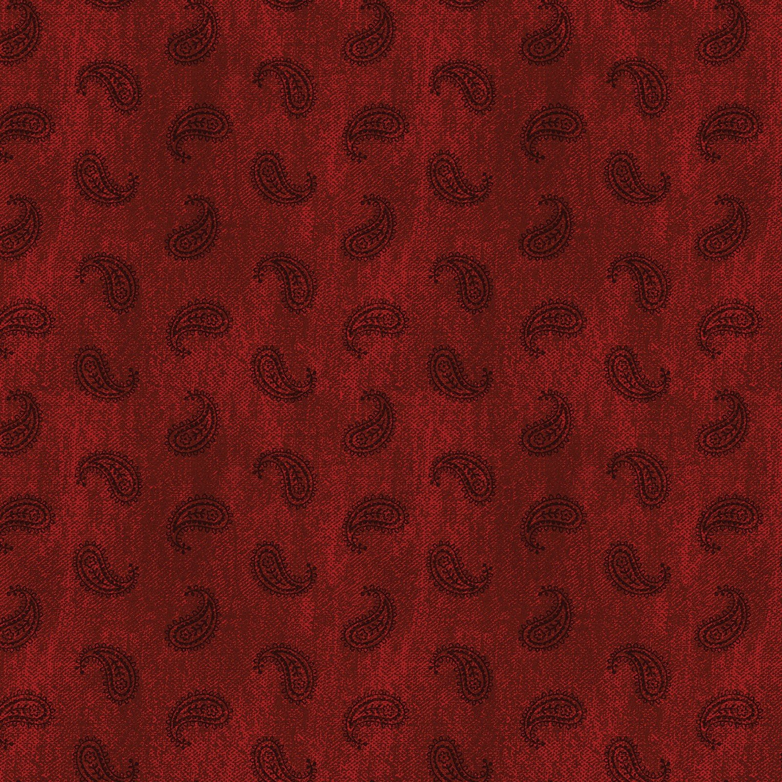Red Paisley - American Rustic - BEN6339-10