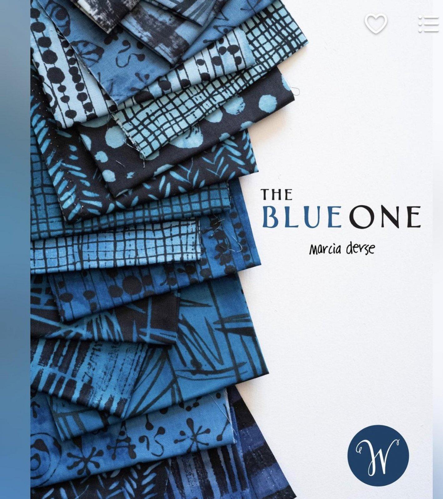 The Blue One Fat Quarter Bundle - 23 pieces