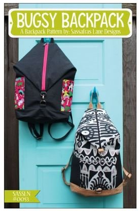Bugsy Backpack Pattern by Sassafras Lane Designs - Kit
