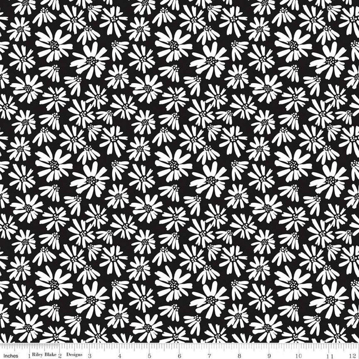 Juniper Daisy Black - C8331-BLACK