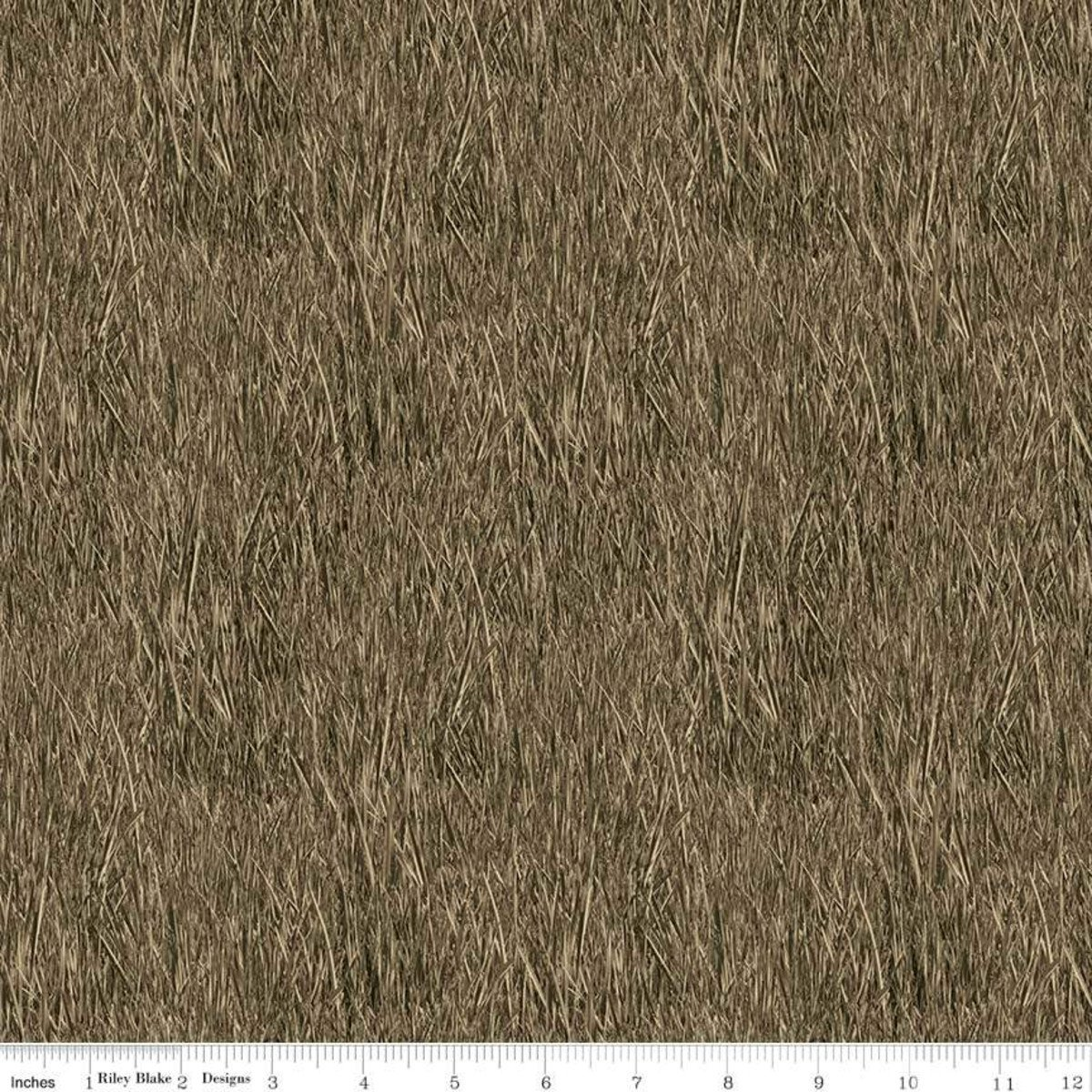 Brown Reeds - Fish and Fowl - C8730-BROWN
