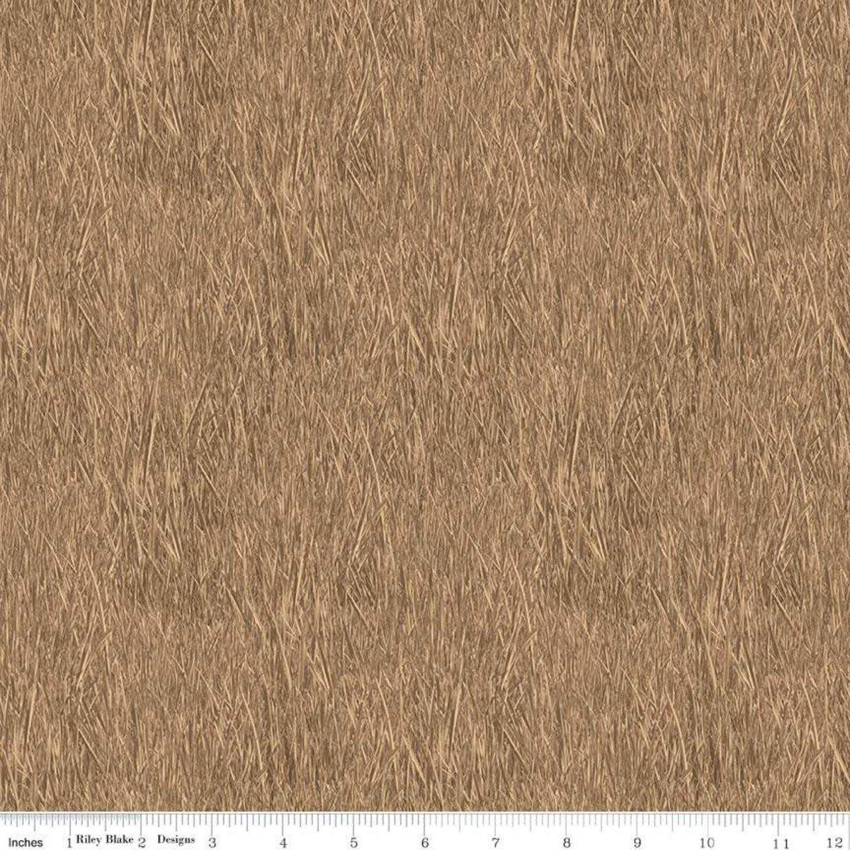Tan Reeds - Fish and Fowl - C8730-TAN