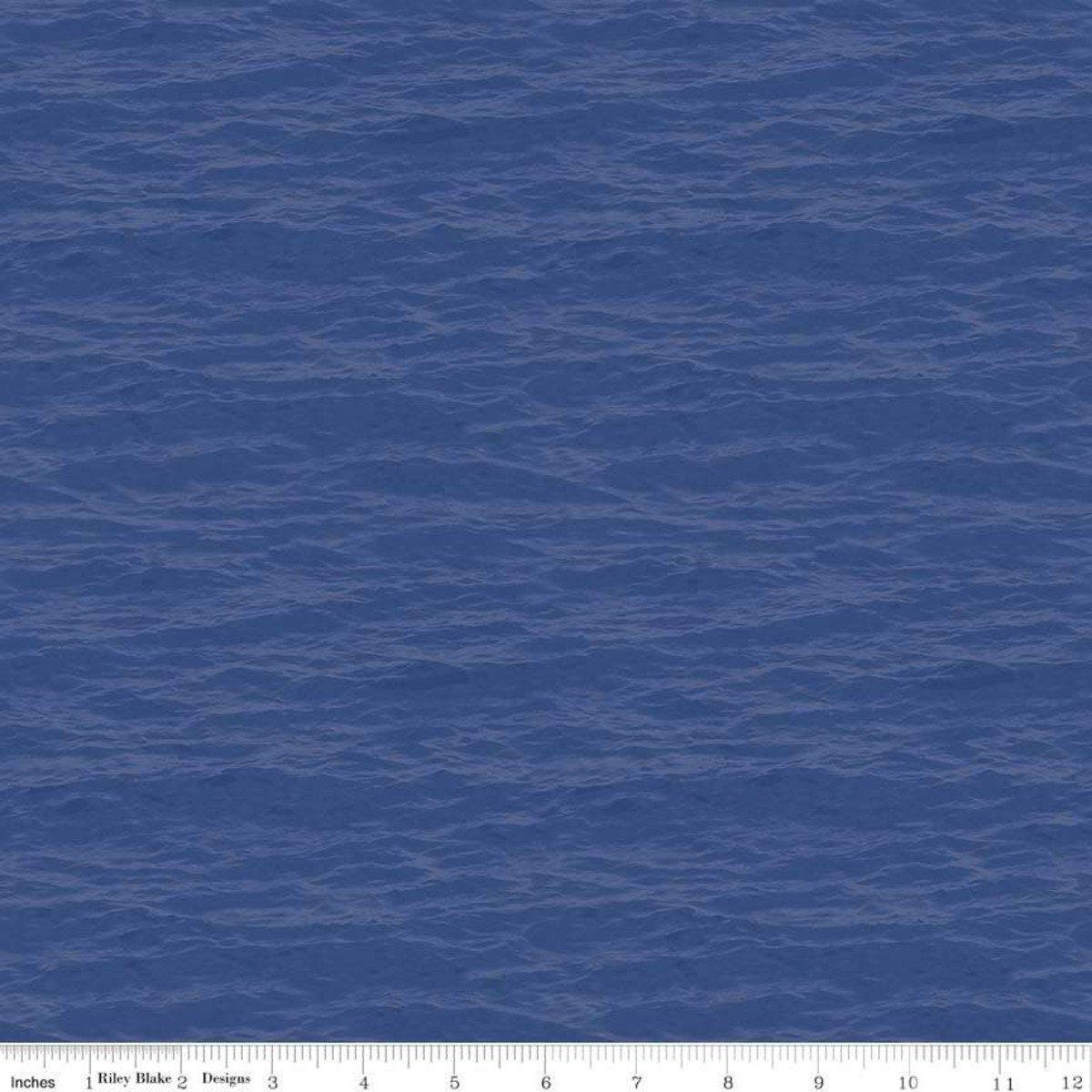 Lake Blue Water - Fish and Fowl - C8731-LAKEBLUE