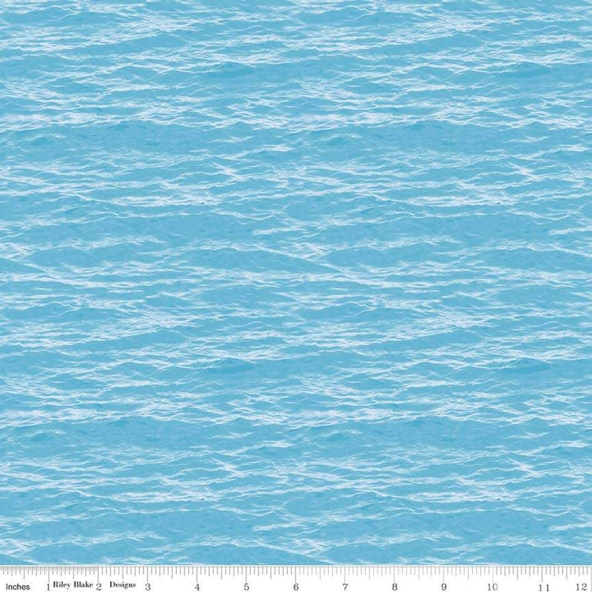 Light Blue Water - Fish and Fowl - C8731-LTBLUE