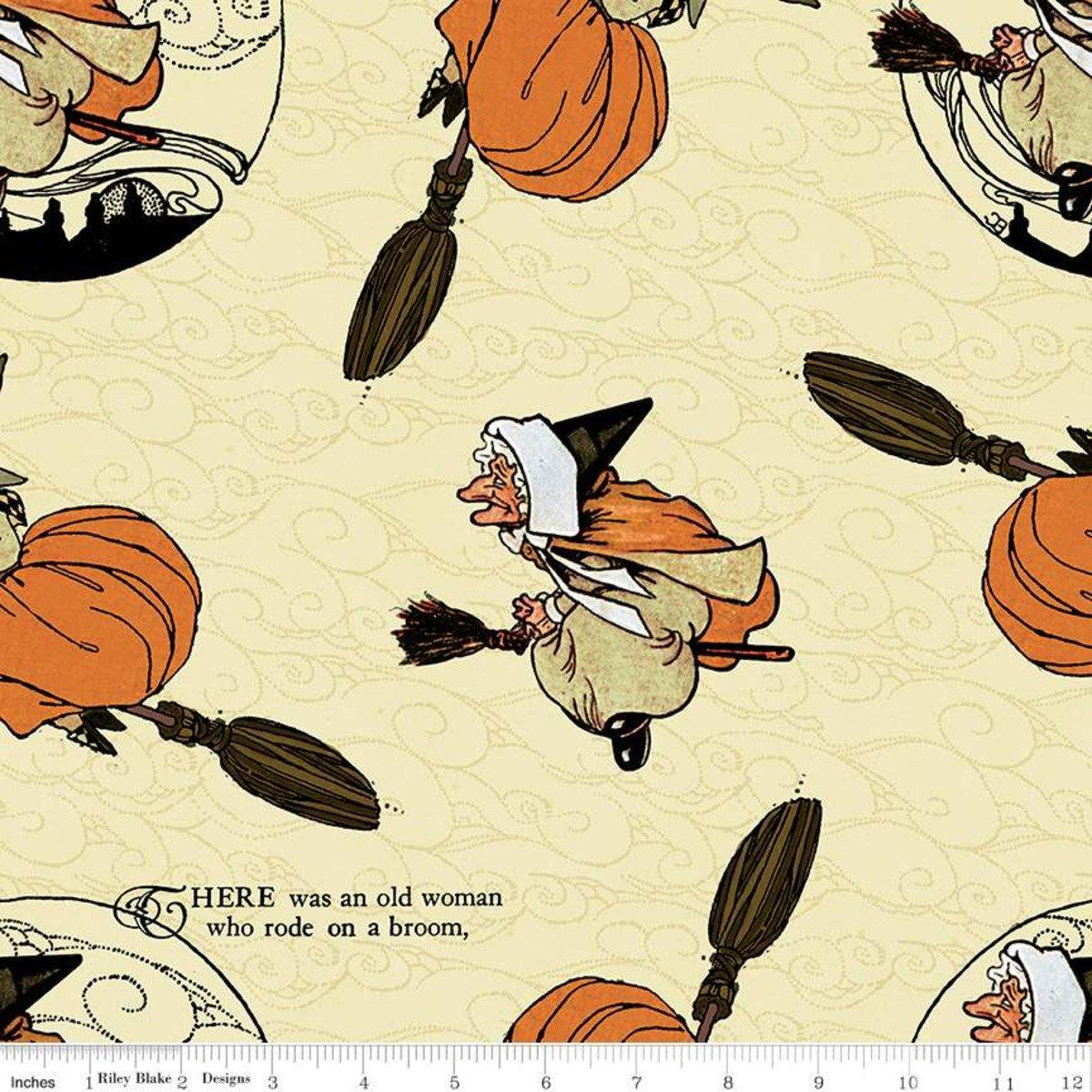 Cream - Old Mother Goose Toss - Goose Tales - C9396-CREAM