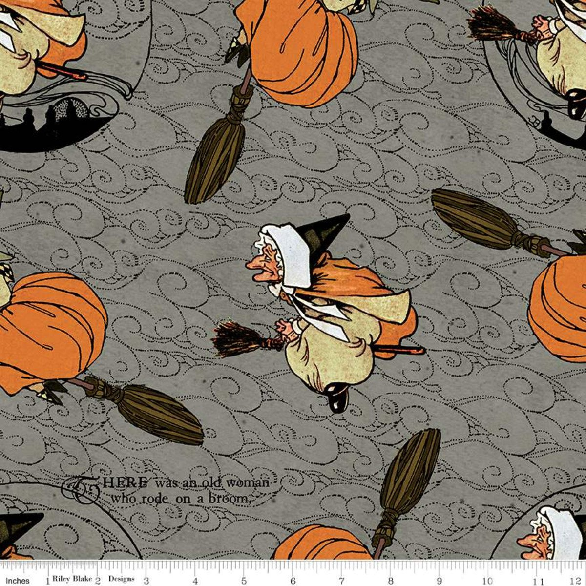 Gray - Old Mother Goose Toss - Goose Tales - C9396-GRAY