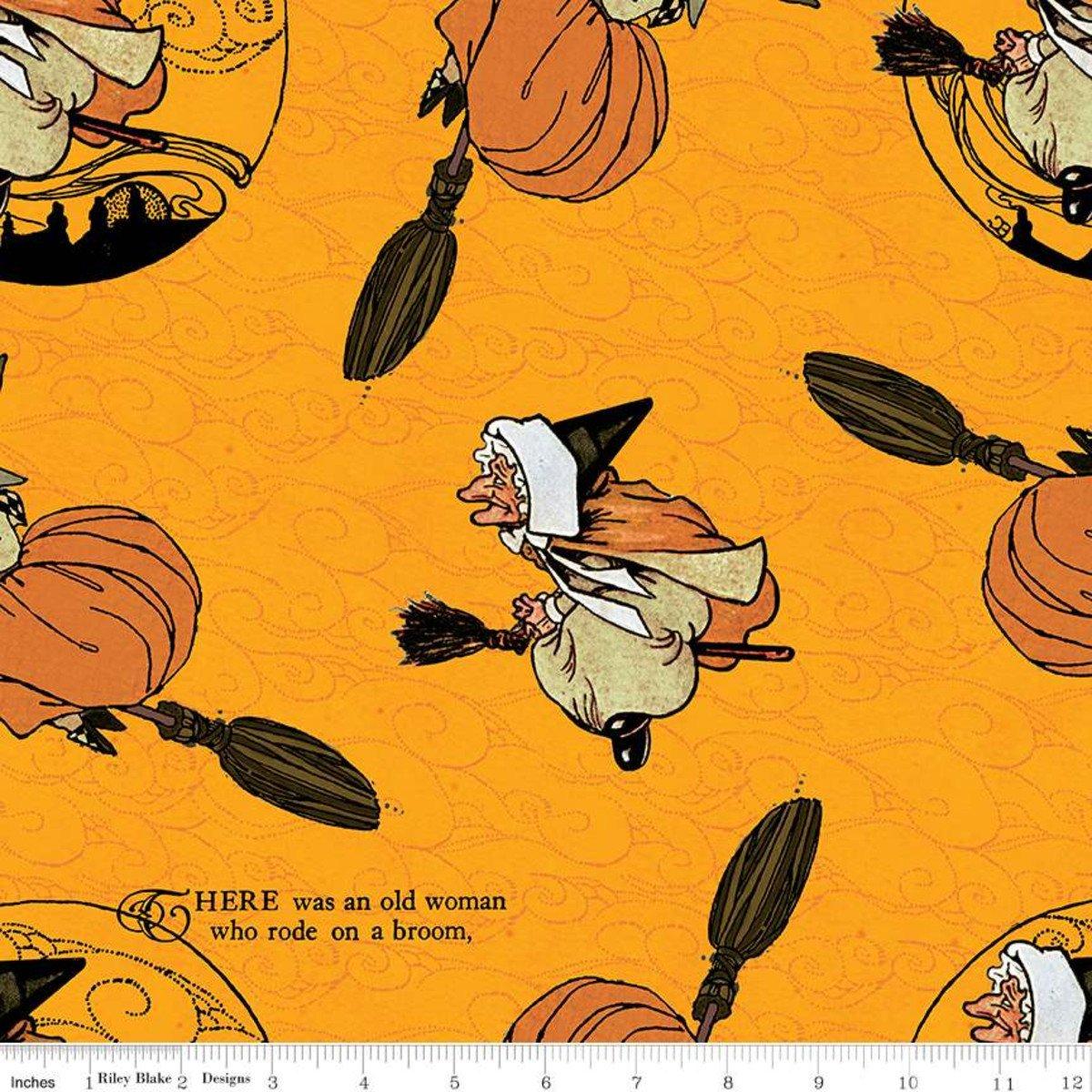 Orange - Old Mother Goose - Goose Tales - C9396-ORANGE