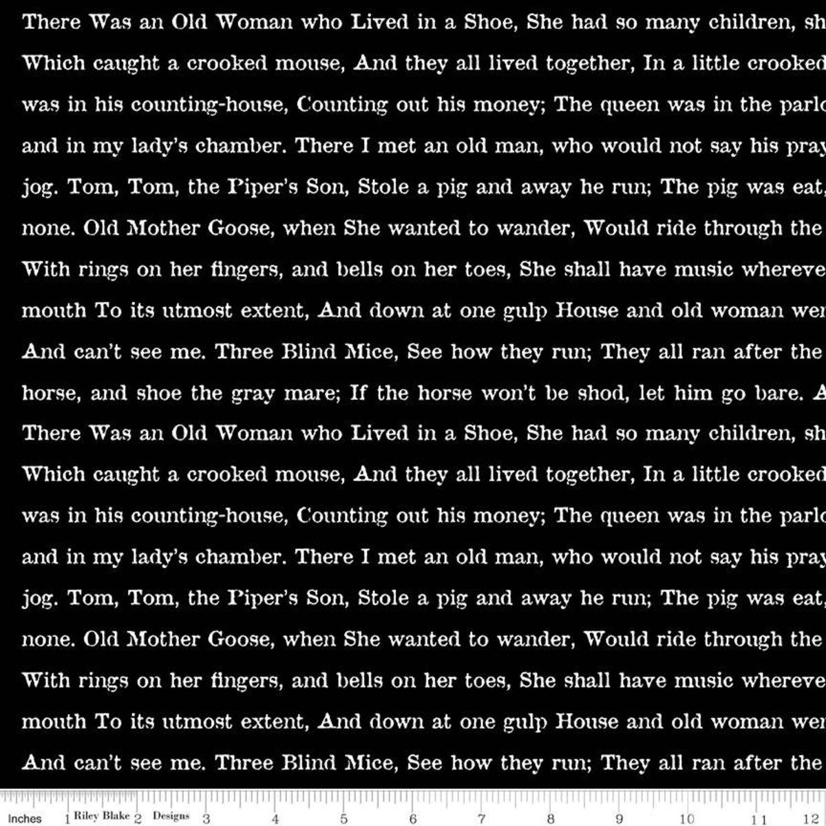 Black - Goose Tales Text - Goose Tales - C9400-BLACK