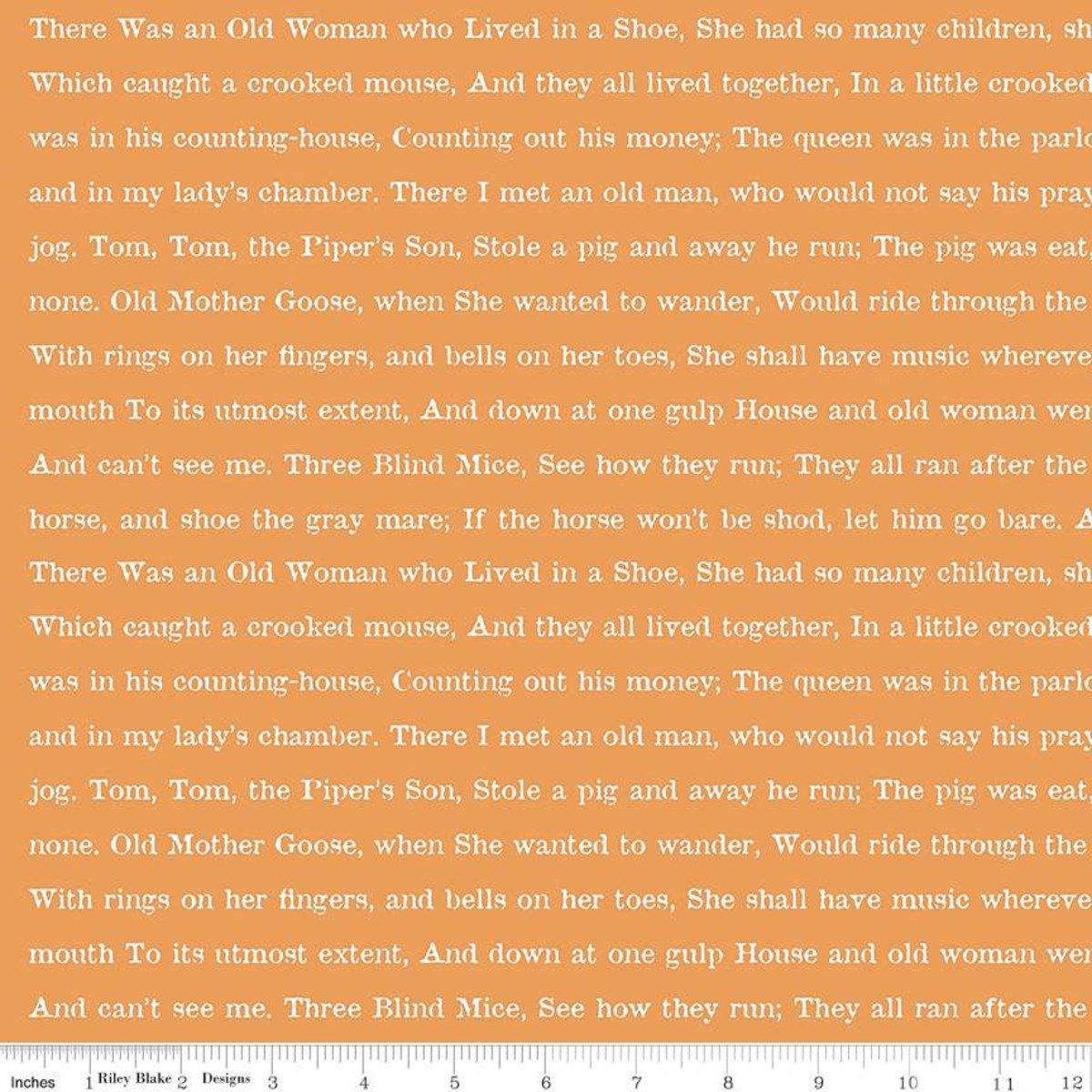 Orange - Goose Tales Text - Goose Tales - C9400-ORANGE