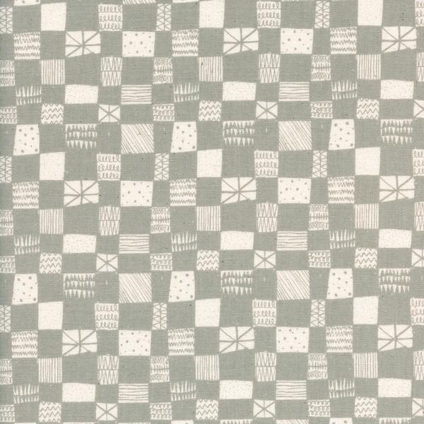Print Shop - Alexia Marcelle Abegg - Grid - Grey - Cotton & Steel - 4037 001