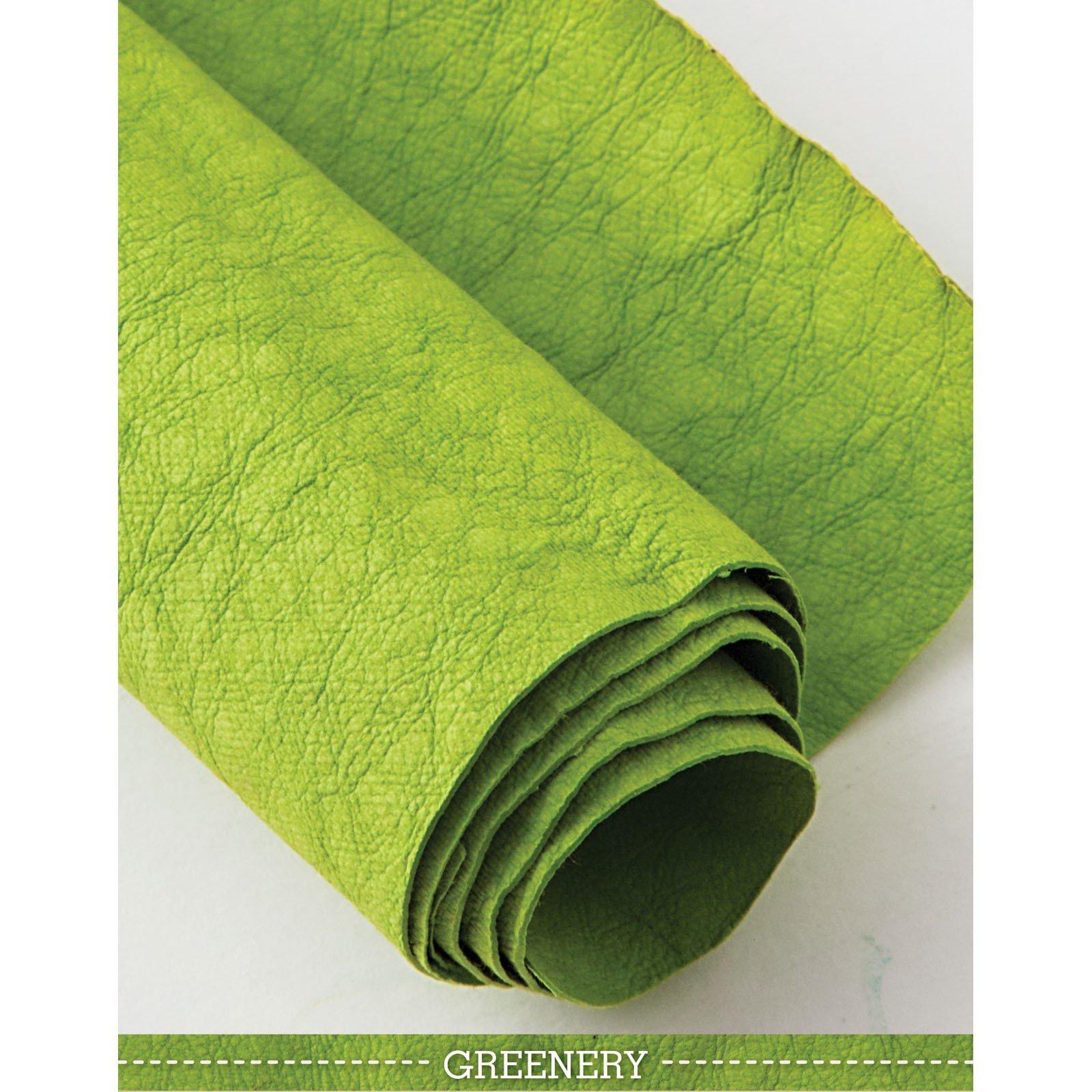 Greenery Kraft-Tex Designer Paper Fabric - approx. 18 x 28 - prewashed - CTP20382