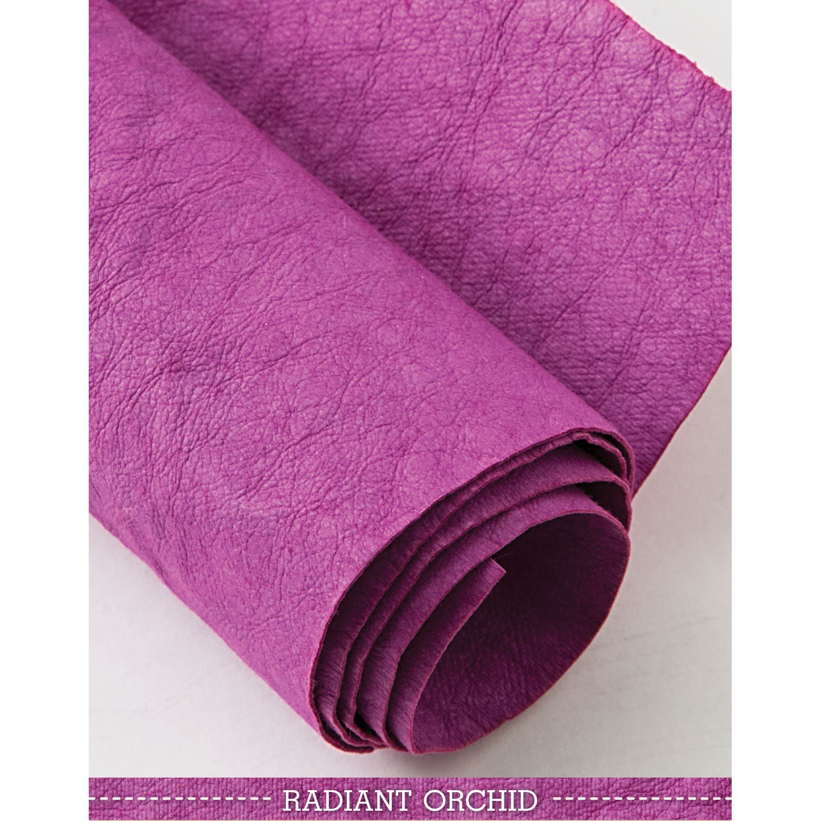 Radiant Orchid Kraft-Tex Designer Paper Fabric - approx. 18 x 28 - prewashed - CTP20384