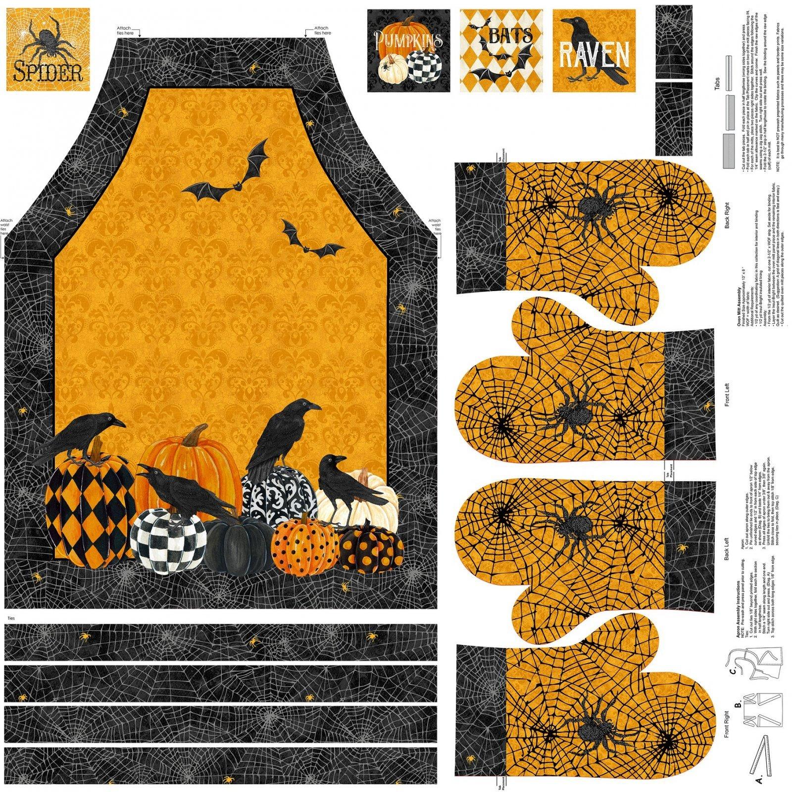 Apron Panel - Raven's Claw - DP22860 54