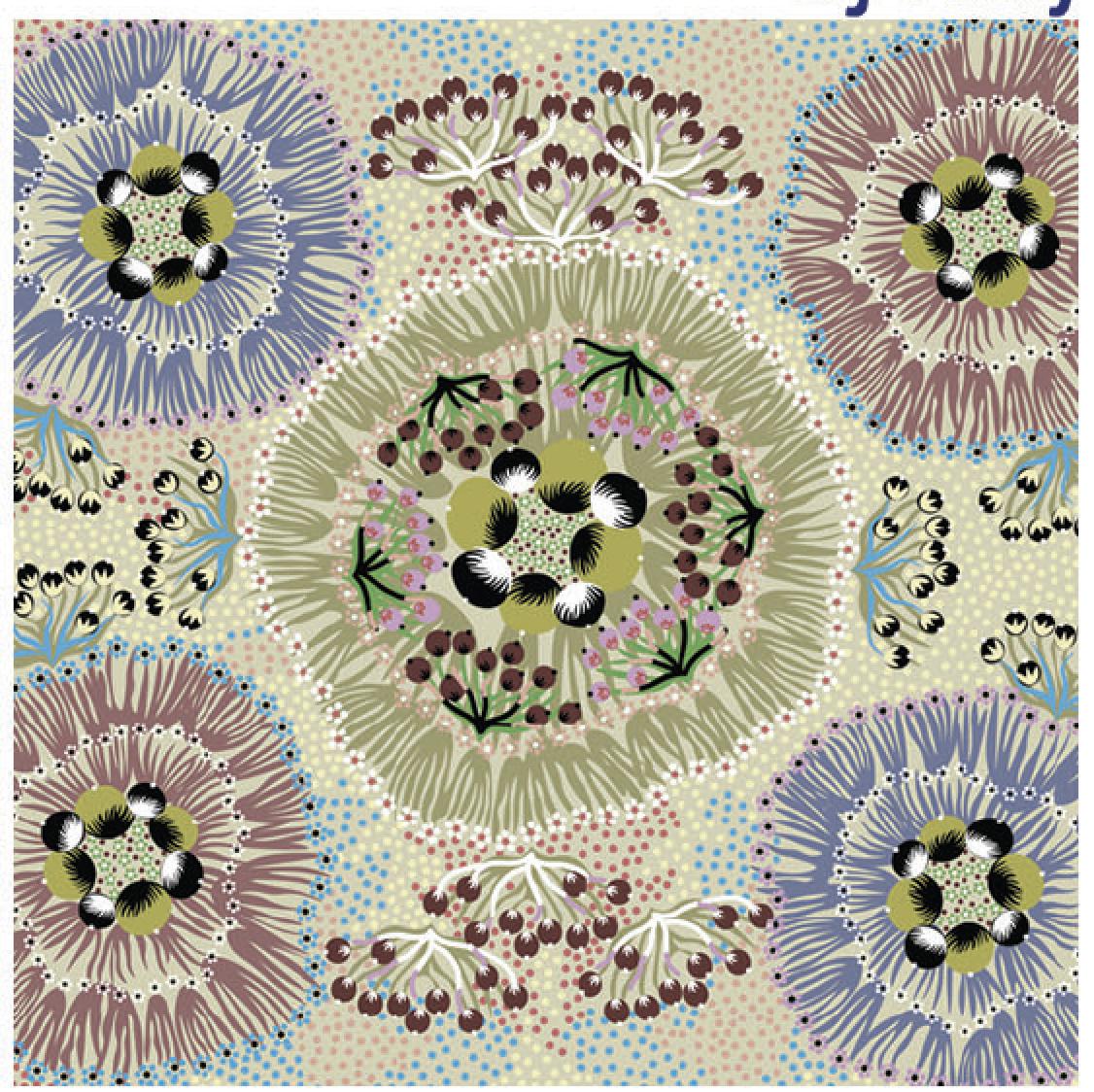 ECRU - BUSH PLUM - BPE - Aboriginals by M & S Textiles Australia