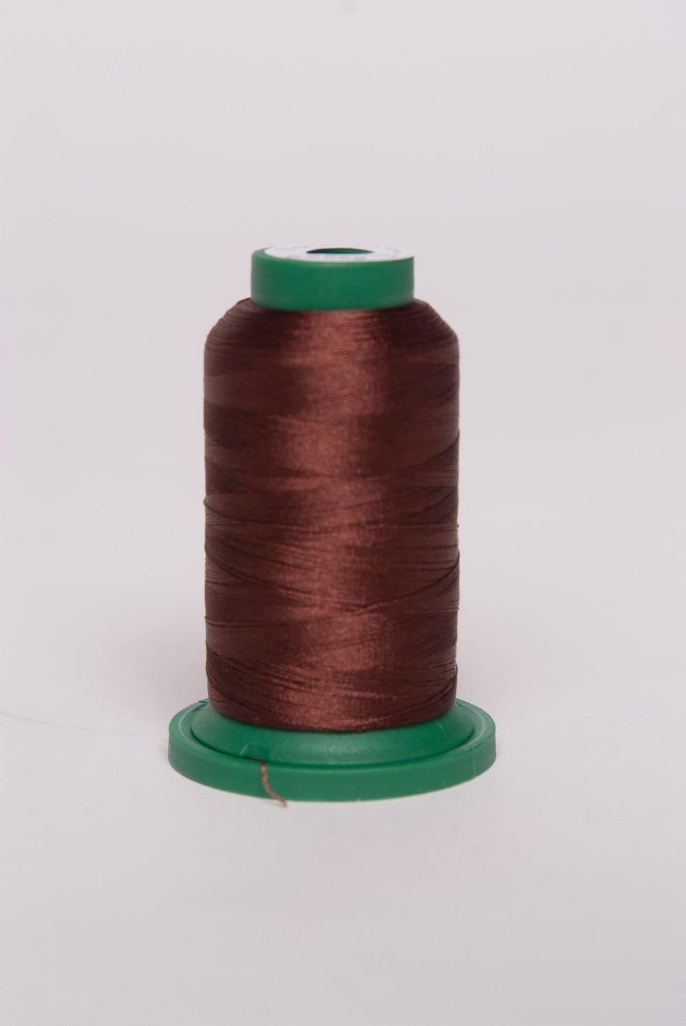 Dark Brown 2 - ES859 - Exquisite Embroidery Thread - 1000 meters