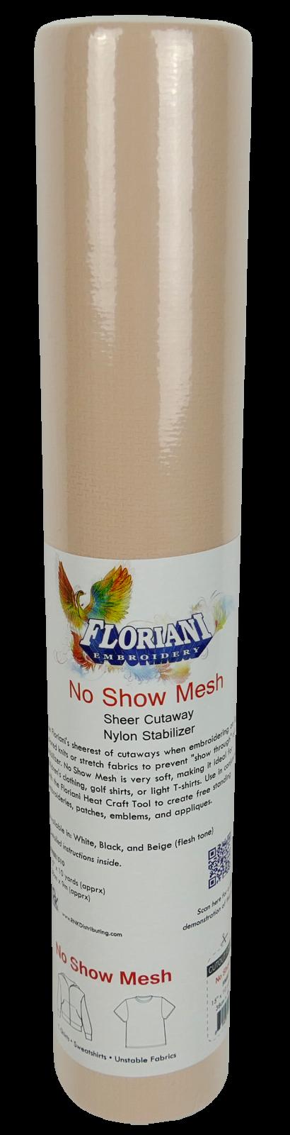 NO SHOW NONFUSE BG - 15x10YD - Floriani Stabilizer - FMBE1510