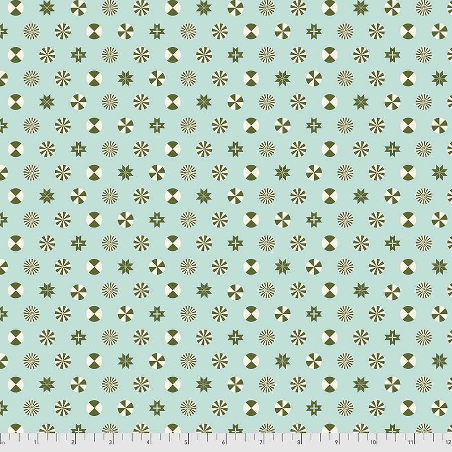 Pine Fresh - Peppermint Stars - Holiday Homies Flannel - FNTP005.PINEFRESH