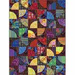 Kaffe Jumbled Quilt Kit including acrylic template