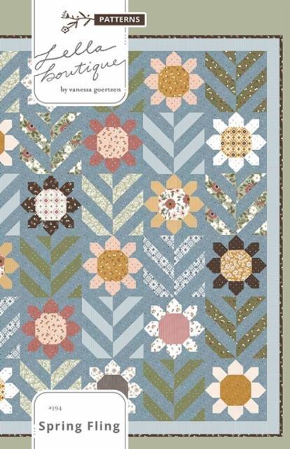 Spring Fling Pattern - LB 194G