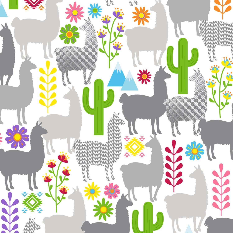 Minky Peruvian Llama - Multi - 1094