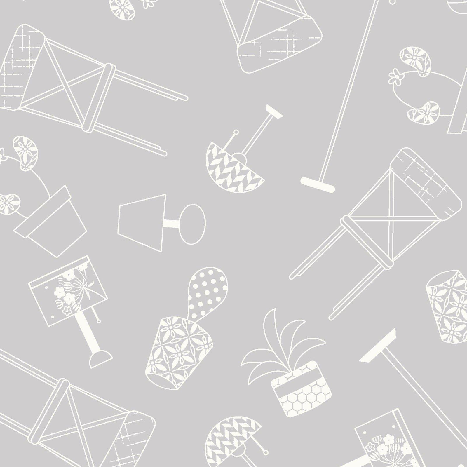 Gray Home Furnishings - Make Yourself at Home - Kim Christopherson - MAS9393-K