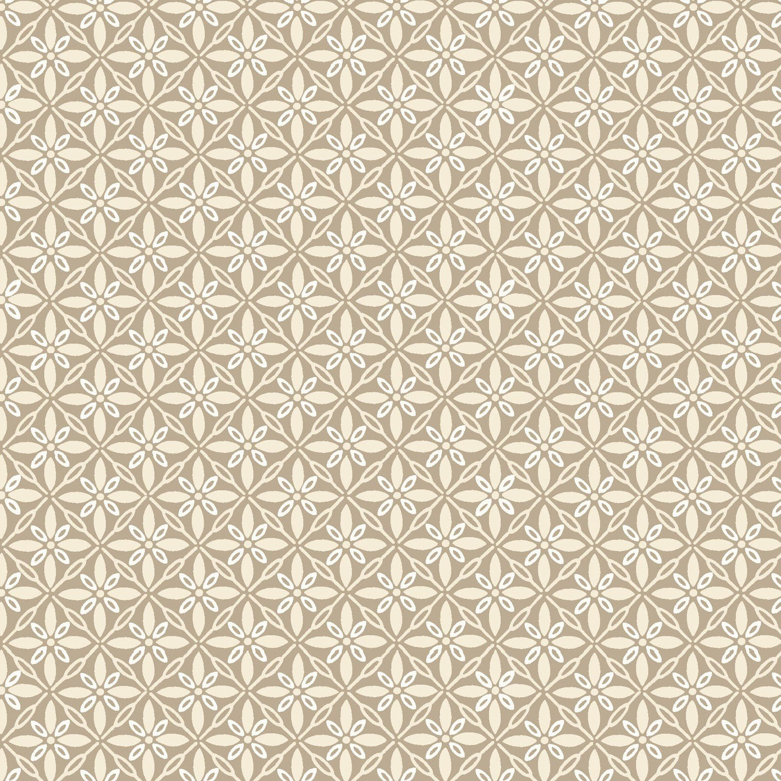 Taupe Tufted Star - Make Yourself at Home - Kim Christopherson - MAS9396-T